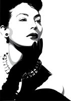 Ava Gardner by pin-n-needles