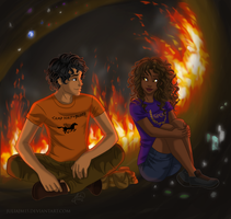Leo and Hazel by juliajm15