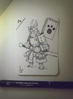 #1 Inktober by CrisWF