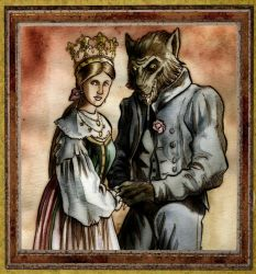 The Girl Who Married a Werewolf by Loneanimator