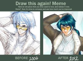 Before After Meme - Rayan by Tiamate