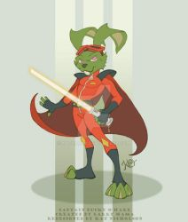 Captain Bucky O'Hare by KatCardy