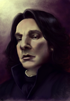 Severus Snape by Luminela