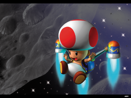 Toad in space by MRTTQM