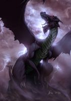 dragon by themimig