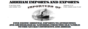 Arkham Imports And Exports Letterhead (Paper Prop) by vonmeer