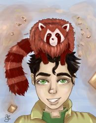 Bolin and Pabu by LenaLightwood