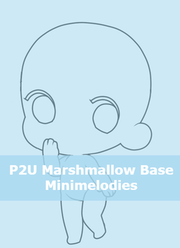 P2U Marshmallow Base by MiniMelodies