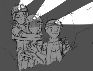 Surprise in the Underground? by DragonBladerX