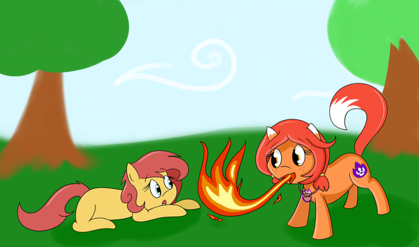Freckle Firefighter by Aletheiasan