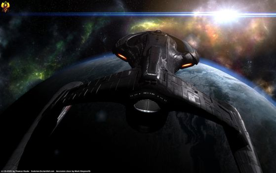 Federation Star Destroyer by Euderion