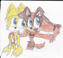 Tails and Sticks by nashaly-1999
