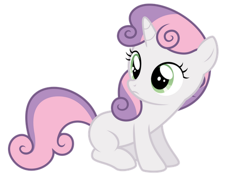 Sweetie Belle - ''huh?'' by thatguy1945