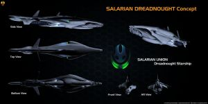 Salarian Dreadnought Overview by Euderion