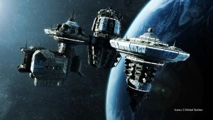 Icarus Orbital Station (4k) by madaboutgames