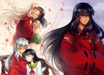 Inuyasha sketches - 2 by Kay-I