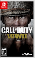Call of Duty World War 2 Nintendo Switch Cover by PeterisBeter
