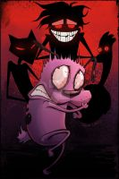 Courage the Cowardly Dog by Taylor-the-Weird