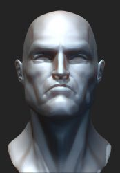 ZBrush Superman  WIP by blendedhead