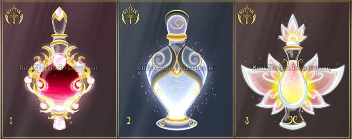 (CLOSED) Potions adopts 9 by Rittik-Designs