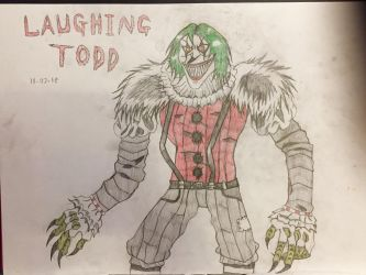 Laughing Todd by AGuynamedJdogg