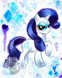 Rarity Watercolor G4 by BarbedDragon