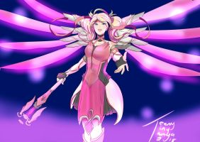 Pink Mercy by tanyasm10