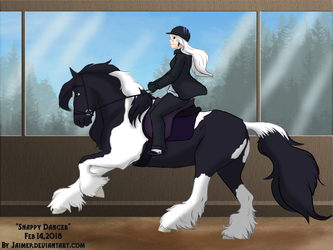 Snappy Dancer - Dressage Entry by Jaimep