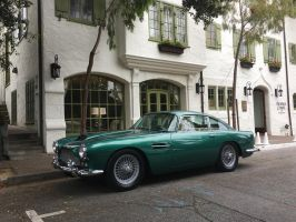 Aston Martin DB4 in Carmel CA by Partywave