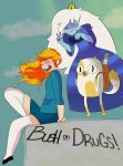 ADVENTURE TIME! W/ Ice queen by BUSHonDRUGS