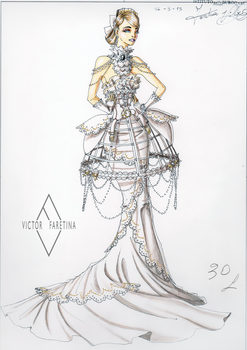 Haute Couture Wedding by Neko-Vi