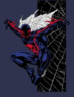 Spider-Man 2099 by Sheldon Goh (Colored) by edCOM02