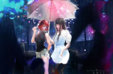 Manami and Fumiko by PalomaGouthier