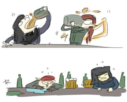 The Witcher 2, doodles 9 by Ayej