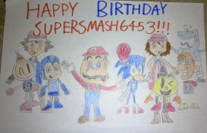 Happy Birthday SuperSmash6453 by SuperSmash6453