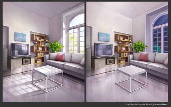 Living Room by CiCiY