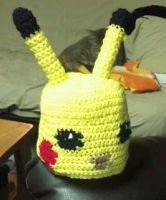 Pikachu hat (version 2) by TinyHatter
