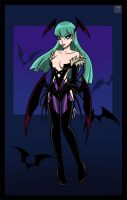 Morrigan Aensland 2 by Lee-Sanixay