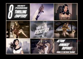 Vesha Valentine and the Rocketeer by DESPOP