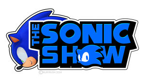 The Sonic Show logo remade with head by NuryRush