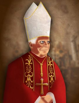 Pope Benedict by Zoolon