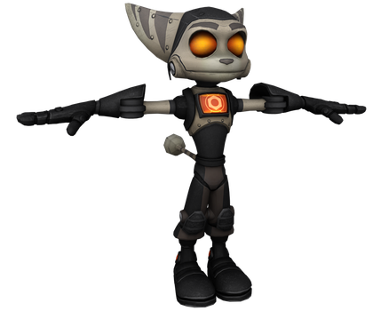 Ratchet and Clank: ItN - Robo Ratchet by o0DemonBoy0o