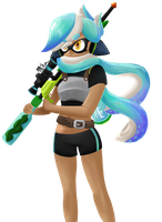 Splatoon OC by MikaDoesTheArtThing