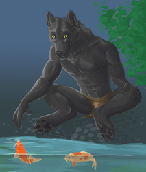 Art for Kasar by Werebeast