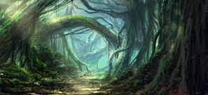 Env Forest by Eru17