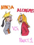 Ninja vs Alchemist part 1 by Kirika-chan