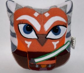 Owl Plushie Inspired by Ahsoka Tano by sylvialovespink