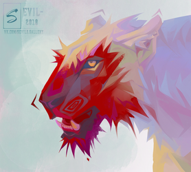 Lioness by Sevil-s