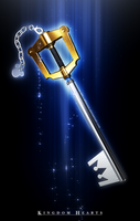 Keyblade - Kingdom Key II by mogcaiz