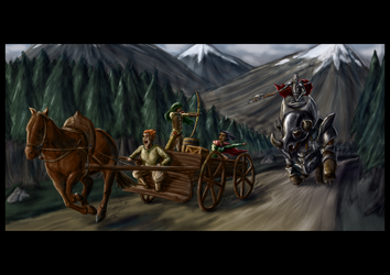 The Chase by slithas